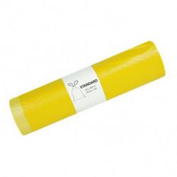 Vrecia pevné zaväzovacie 120l 20mic. 700x1000mm 20ks žlté