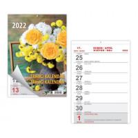 Nástenný kalendár trhací A5...