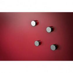 Tabuľa GLASSBOARD 60x80cm červená
