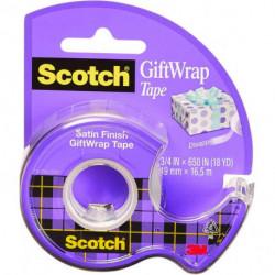Lepiaca páska Scotch na darčeky 19mmx7,5m s dipenzorom
