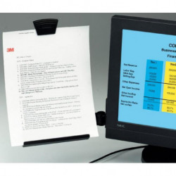 Držiak konceptov na monitor DH445, 255 × 230 × 70 mm