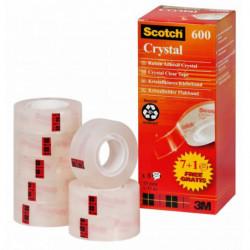 Lepiaca páska Scotch 600 19x33m zvýhodnené balenie 7+1zdarma