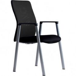 Rokovacia stolička CALYPSO MEETING čierna 1111