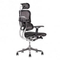 Kancelárska stolička SIRIUS Q24 MESH čierna