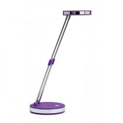Lampa stolná LED MAUL Puck fialová