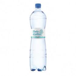 Pramenitá voda Zlatá studňa nesýtená 1,5l