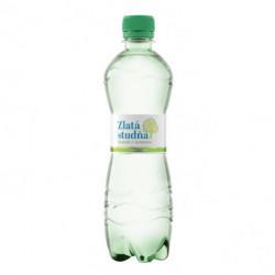 Pramenitá voda Zlatá studňa jemne sýtená 0,5l