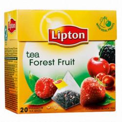 Čaj Lipton čierny Forest Fruit pyramídy 34g