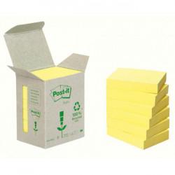 Bločky Post-it recyklované 76x76 žlté