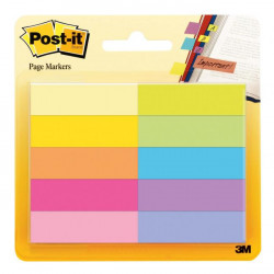 Záložky Post-it papierové 10x50mm