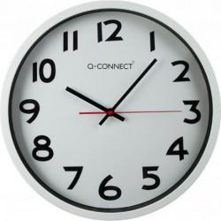 Nástenné hodiny Q-Connect 35cm biele