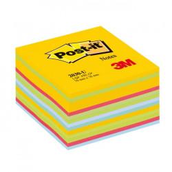 Bloček kocka Post-it 76x76 mix farieb