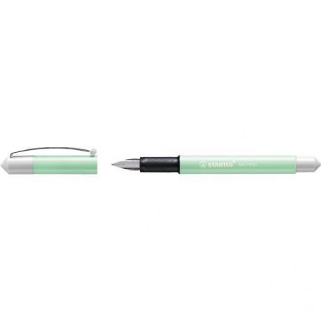 Plniace bombičkové pero STABILO beCrazy! Pastel mätová/biela