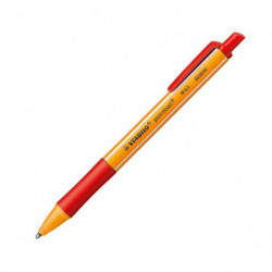 Guľôčkové pero STABILO pointball červené
