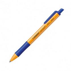 Guľôčkové pero STABILO pointball modré