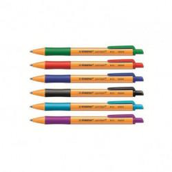 Guľôčkové pero STABILO pointball fialové