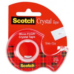Lepiaca páska Scotch 600 19mmx7,5m s dispenzorom