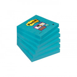 Bločky Post-it Super Sticky - Mediteránska modrá 76x76mm