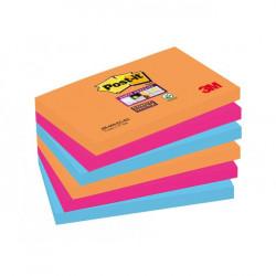 Bločky Post-it Super Sticky _Bangkok_ 76x127mm