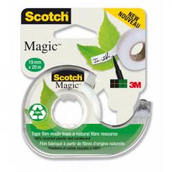 Lepiaca páska Scotch Magic neviditeľná popisovateľná 900 19mmx20m s dispenzorom