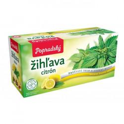 Čaj BOP bylinný žihľava, citrón 30g