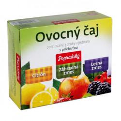 Čaj BOP ovocný 3 druhy 180g