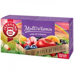Čaj TEEKANNE ovocný Multivitamin 50g