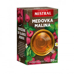 Čaj MISTRAL bylinný Medovka a malina 30g