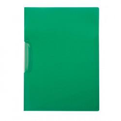Obal s klipom plastovým Q-Connect zelený