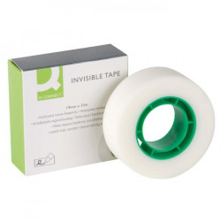 Lepiaca páska Q-CONNECT 19mmx33m neviditeľná popisovateľná