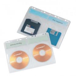 Obaly na archiváciu CD/DVD Q-CONNECT 10ks