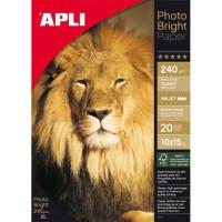 Fotopapier 10x15cm APLI...