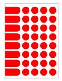 Etikety kruhové 24mm Agipa...
