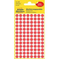Etikety kruhové 8mm Avery...