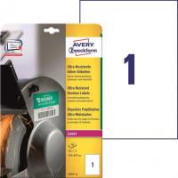 Etikety Avery 210x297 mm,...