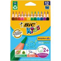 Farbičky BIC trojhranné...