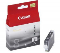 atrament Canon CLI-8Bk čierna