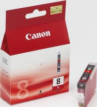 Atrament Canon CLI-8 R red...