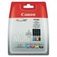 Atrament Canon CLI-551 CMYK...