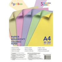 Farebný papier Gimboo A4...
