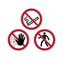 Zákazová značka na podlahu...