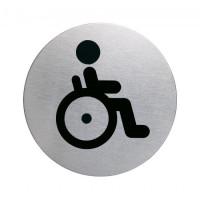 Piktogram WC bezbariérové