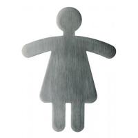 Piktogram WC dámy tvarované