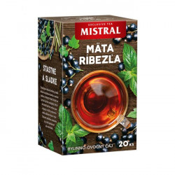 Čaj MISTRAL bylinný Mäta a čierna ríbezľa 30g