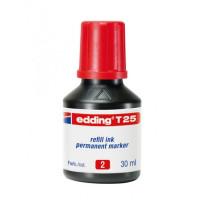 Atrament edding T 25 červený