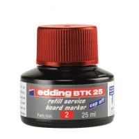 Atrament edding BTK 25 červený