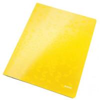 Rýchloviazač Leitz WOW žltý