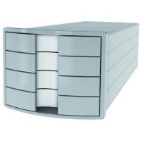 Zásuvkový box Impuls sivý