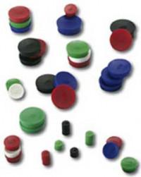 Magnet 30 mm červený 10 ks