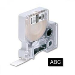 Samolepiaca páska Dymo D1 12 mm čierna/biela